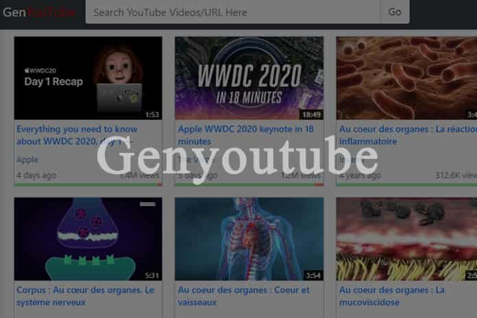 Genyoutube – Download Youtube Videos