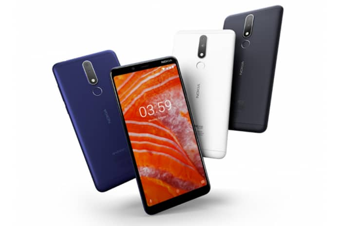 NOKIA 3.1 PLUS PHONE