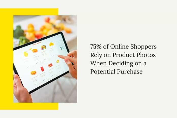 Online Shoppers Rely on Product Photos When Deciding on a Potential Purchase-min